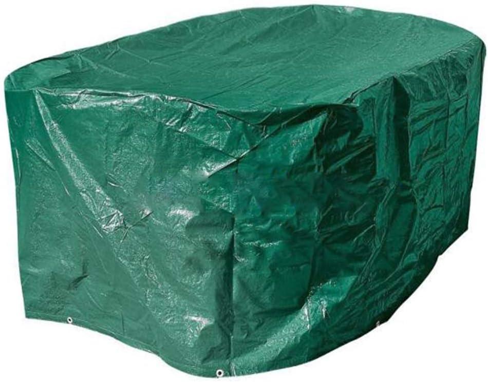 Gartenmöbel Abdeckung Sonnenschutz Regenschutz Tragen PE Woven Cloth Dark Green 121x62x64cm (Color : Green, Size : 121x62x64cm)