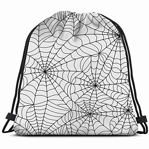 halloween web spider grey holidays Drawstring Backpack Gym Sack Lightweight Bag Water Resistant Gym Backpack for Women&Men for Sports,Travelling,Hiking,Camping,Shopping Yoga]()