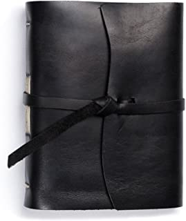 product image for Rustico Leather Good Book w/Wrap Black