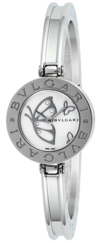 Bvlgari b-zero1 blanco perla Dial mujer reloj bz22bdss. S: Amazon.es: Relojes