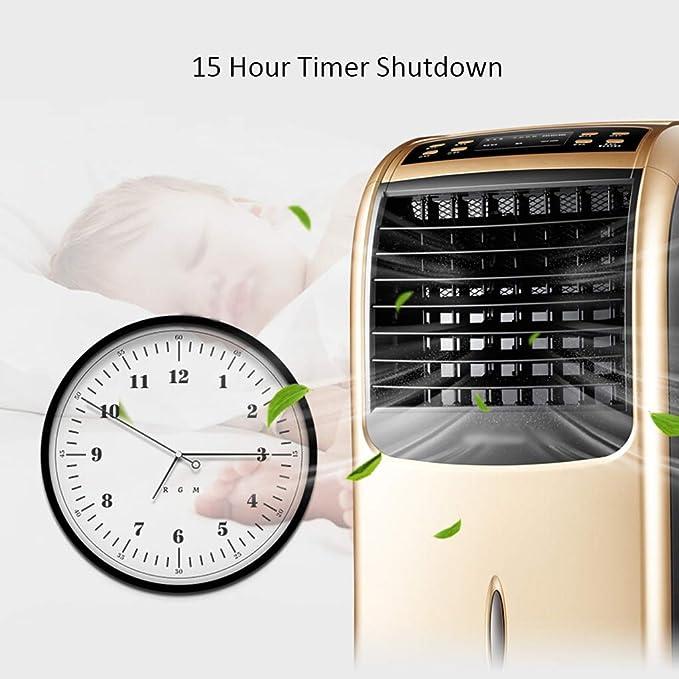 Ventilador Multifuncional de Uso múltiple móvil del Aire Acondicionado del hogar, Calentador del Ventilador de la Torre de la Fan eléctrica de Control ...