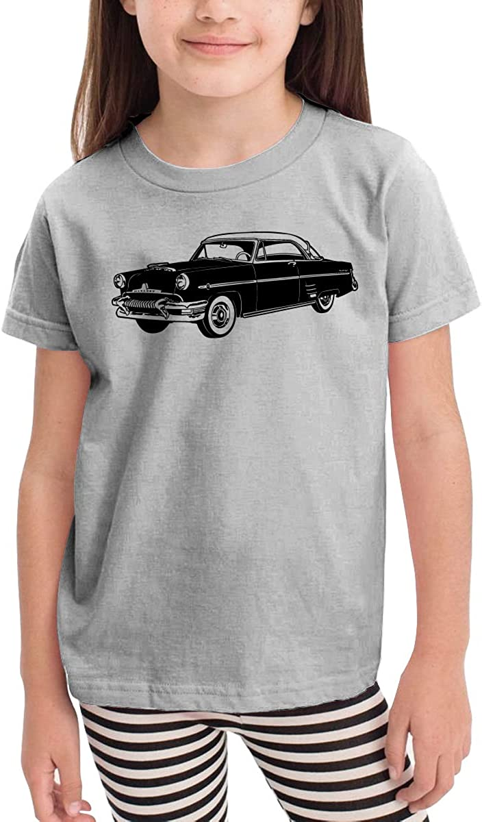 HIGASQ Unisex Baby Muscle Car O Neck Toddlers Short Sleeve T Shirt for 2-6 Boys Girls
