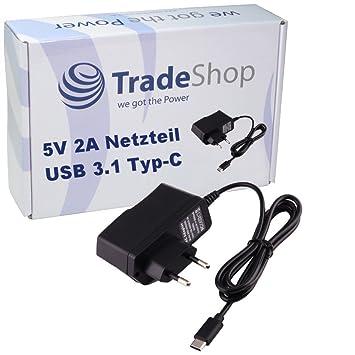 Trade-Shop - Cargador rápido USB 3.1 Tipo C 5 V 2 A para ...