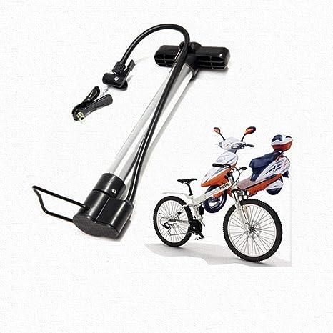 lqgpsx Bombas de pie, Bombas de Bicicleta portátiles Mini Bombas Antideslizantes de Alta presión, para válvulas, Bicicletas de montaña Carreteras Silla de Ruedas Motocicleta: Amazon.es: Deportes y aire libre