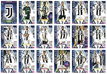 Amazon.com: Match ATTAX Champions League 2018/19 Juventus ...