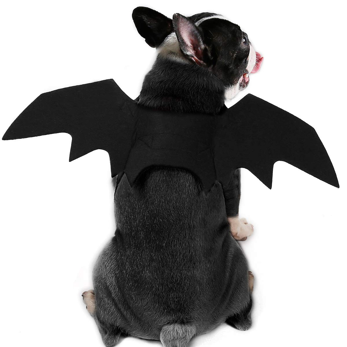 YOAYO Dog Halloween Pet Bat Wings Dog Bat Costume Apparel Small.Medium Large Dog
