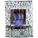 Caden Lane Modern Vintage Collection Bedding Pillow Sham, Blue