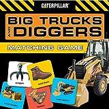 Big Trucks and Diggers Matching Game, Caterpillar, 0811866858