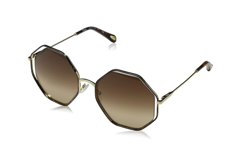 Chloé Ce132S 213 58, Gafas de sol para Mujer, Havana/Brown ...