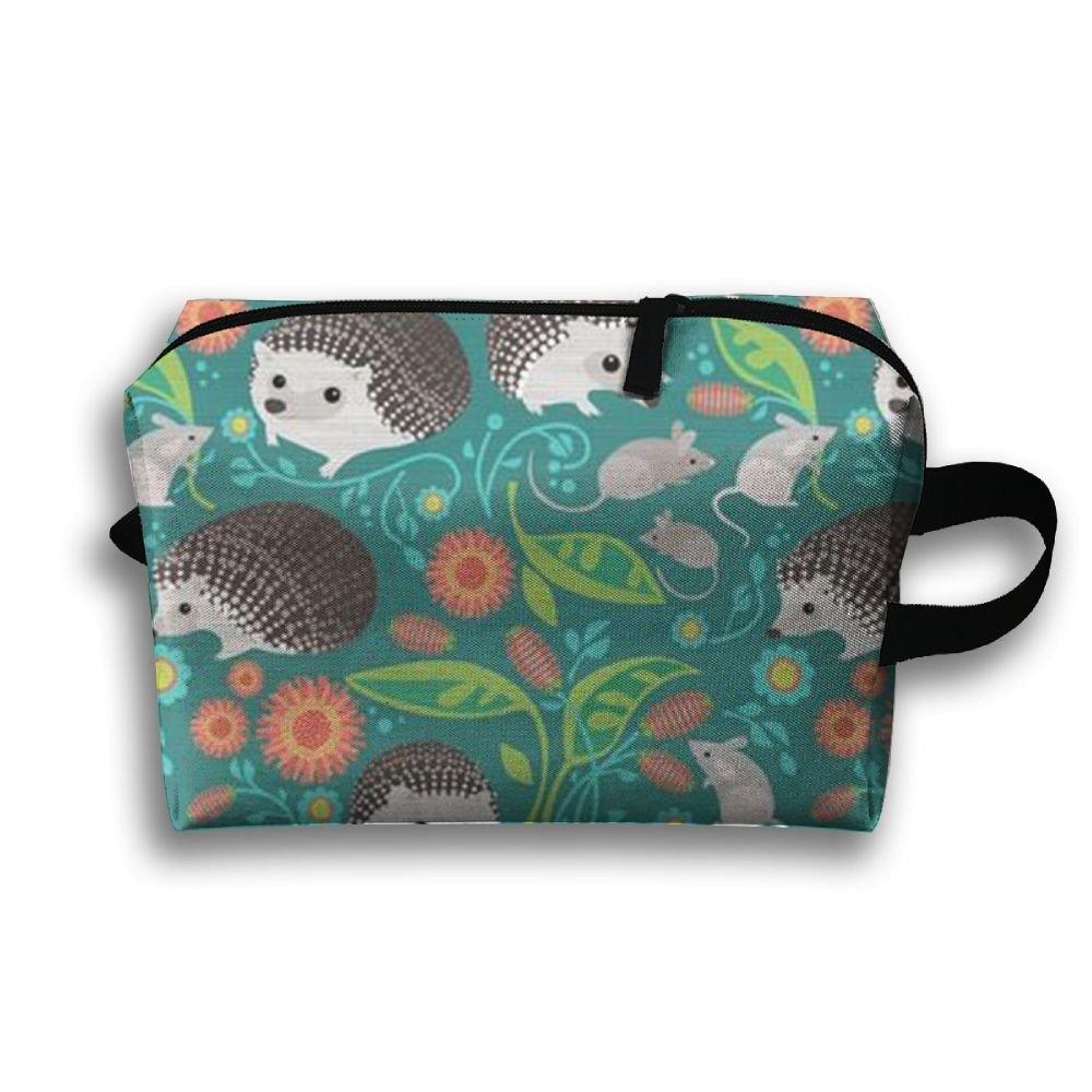 DTW1GjuY Lightweight And Waterproof Multifunction Storage Luggage Bag Hedgehog