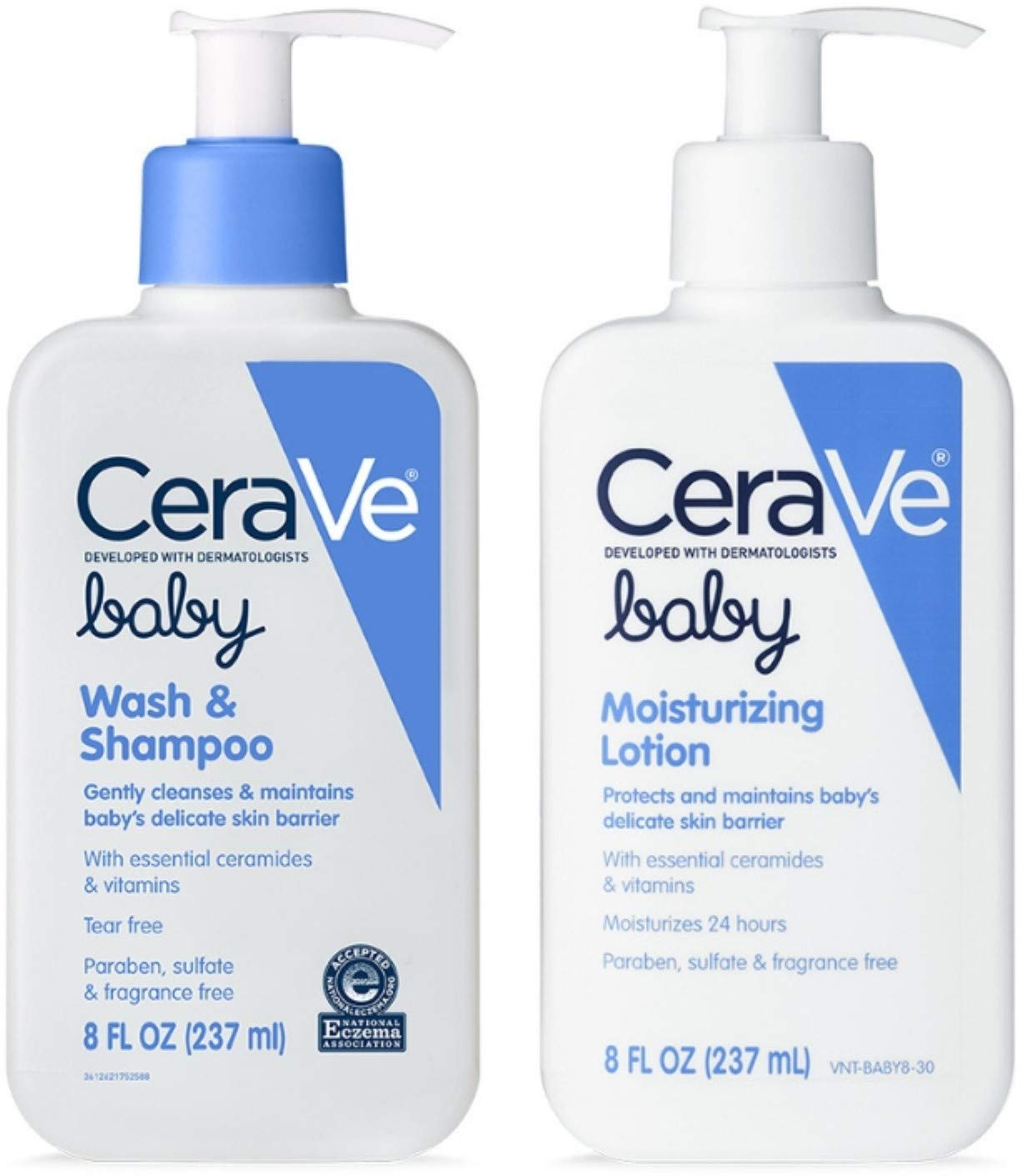CeraVe Baby Skincare Bundle | Contains CeraVe Baby Wash & Shampoo and CeraVe Baby Lotion 1 ea by CeraVe