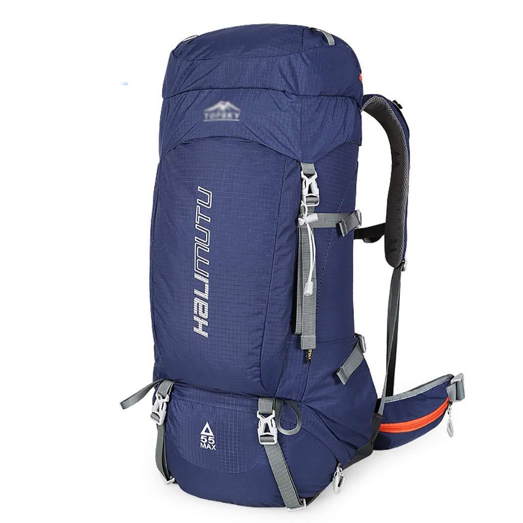 55Lアウトドアスポーツ旅行バックパックキャンプ荷物バックパック31 * 17 * 65 cm。 B07MJX6YZ6