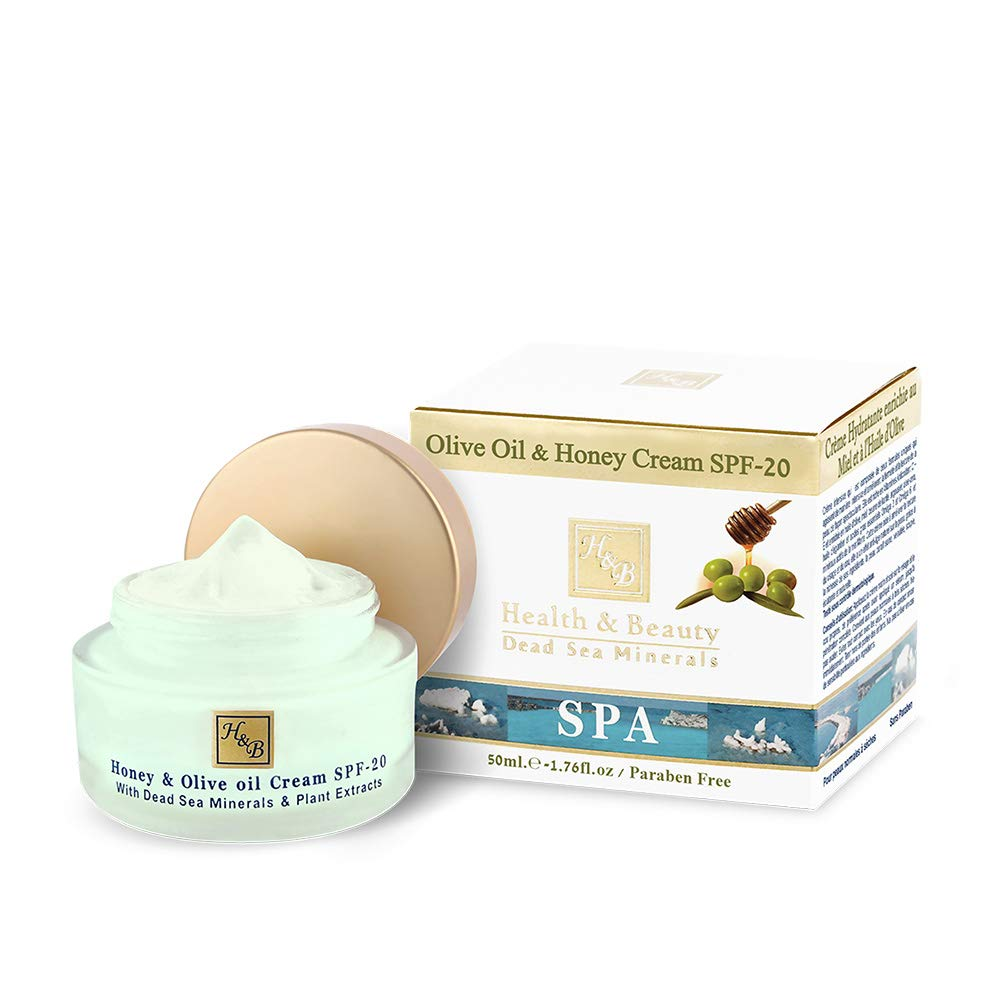 H&B Dead Sea Olive Oil & Honey Cream SPF-20 by HealthBeauty