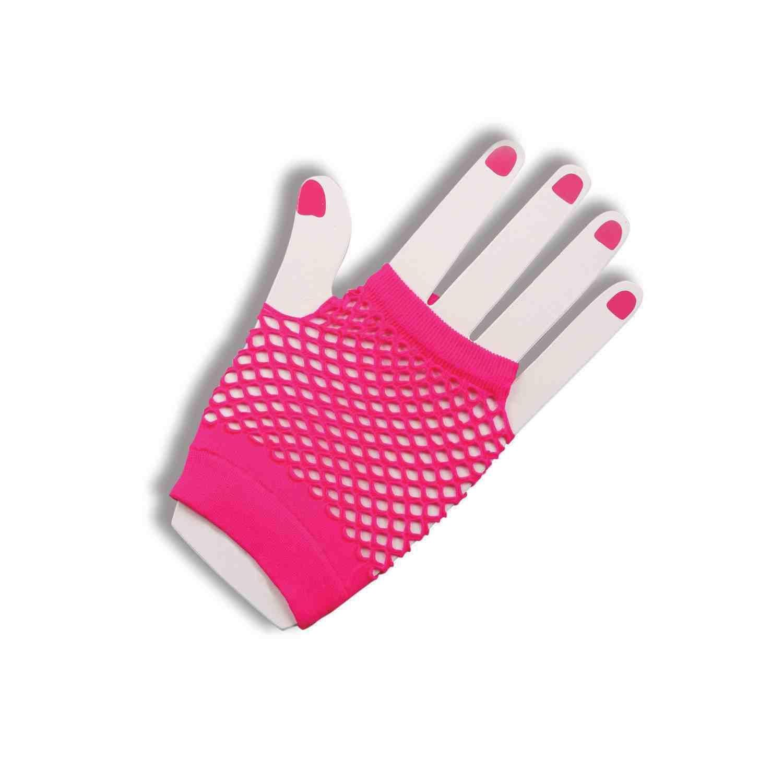 Forum Novelties Womens Fishnet Fingerles Gloves
