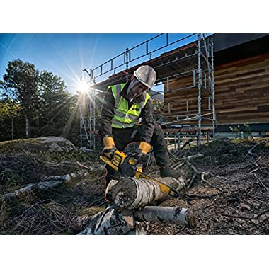 DEWALT DCM575X1 54V 400mm XR FLEXVOLT Li-ion Cordless Chain Saw with Brushless Motor-1x9.0Ah Battery Included 6