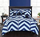 Best Better Homes & Gardens Comforters - Chic Home 10 Piece Surfer Chevron & Geometric Review