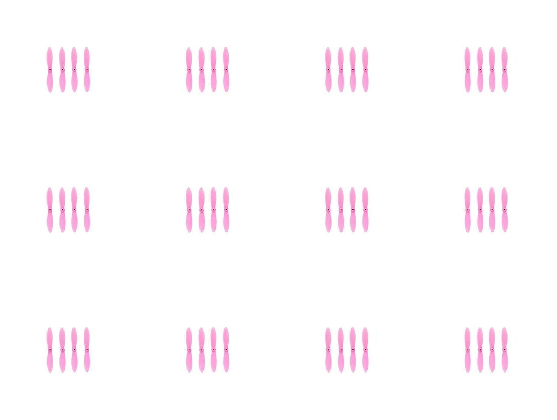 12 x数量のWLtoys v292すべてピンクNanoクアッドコプタープロペラブレードセット32 mmプロペラブレードプロップクアッドドローンパーツ – Fastからオーランド、フロリダ州USA 。 B01D2O181U