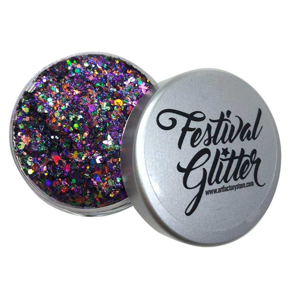 Art Factory Festival Glitter–Wicked (50ml/1FL oz)