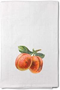 Style In Print Custom Decor Flour Kitchen Towels Peach Vintage Look E Food & Beverage Fruit Food & Beverage Fruit Cleaning Supplies Dish Towels Design Only