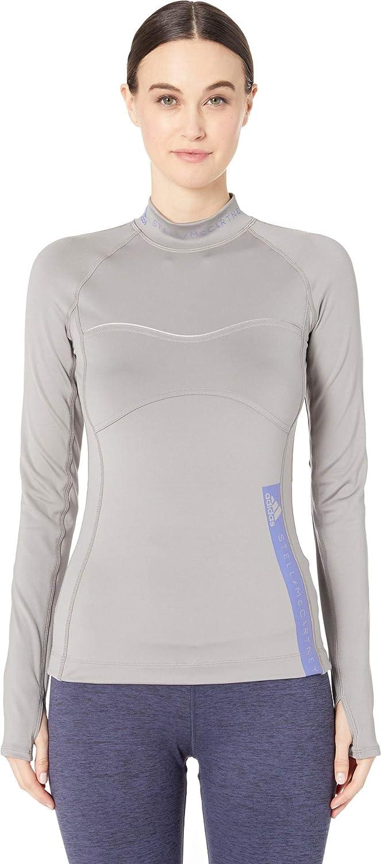 Ch Solid Grey Adidas by Stella McCartney Women's Run Long Sleeve DT9289
