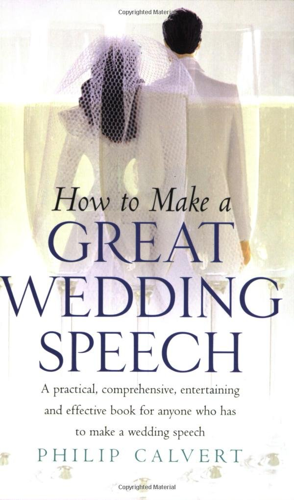 Make a Great Wedding Speech