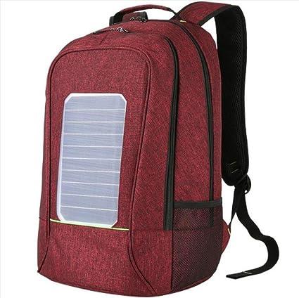 WDGT Mochila solar mochila de senderismo con energía solar Mochila ...