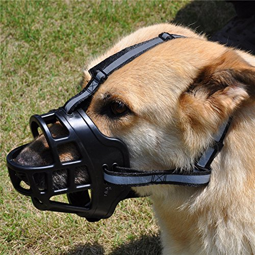 Jyhy Soft Silicone Basket Dog Muzzles Adjustable