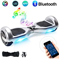"""Windgoo Hoverboard 6.5"""" Bluetooth Balance Board Patinete Eléctrico Scooter Talla LED 350W*2"""