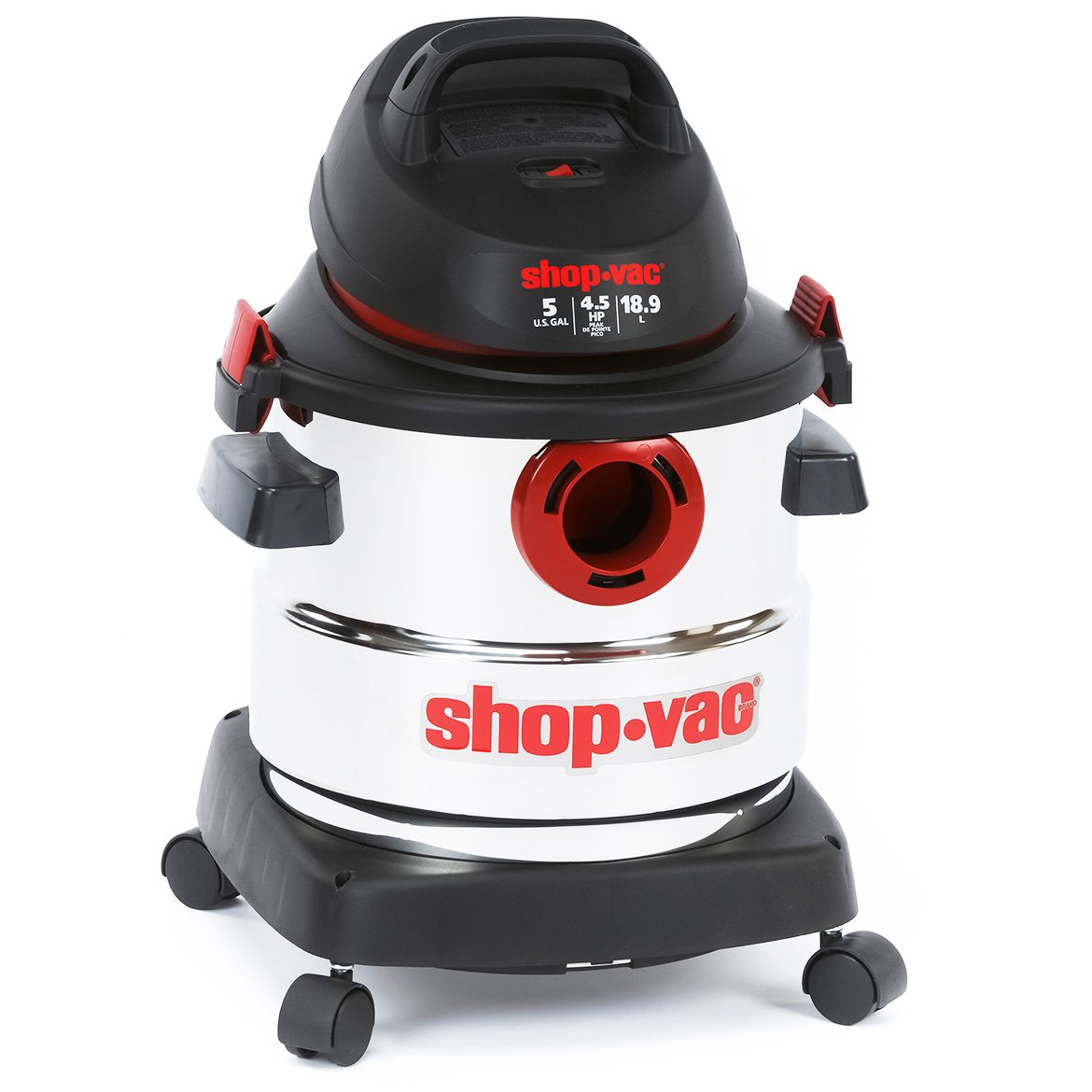 61W5rY1Bx9L._SL1170_ shop vac 5989300 5 gallon 4 5 peak hp stainless wet dry vacuum Shop-Vac Brand Replacement Parts at highcare.asia
