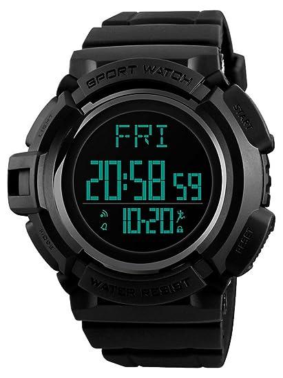 Reloj digital de mujer para niños y niñas, resistente al agua, alarma electrónica,