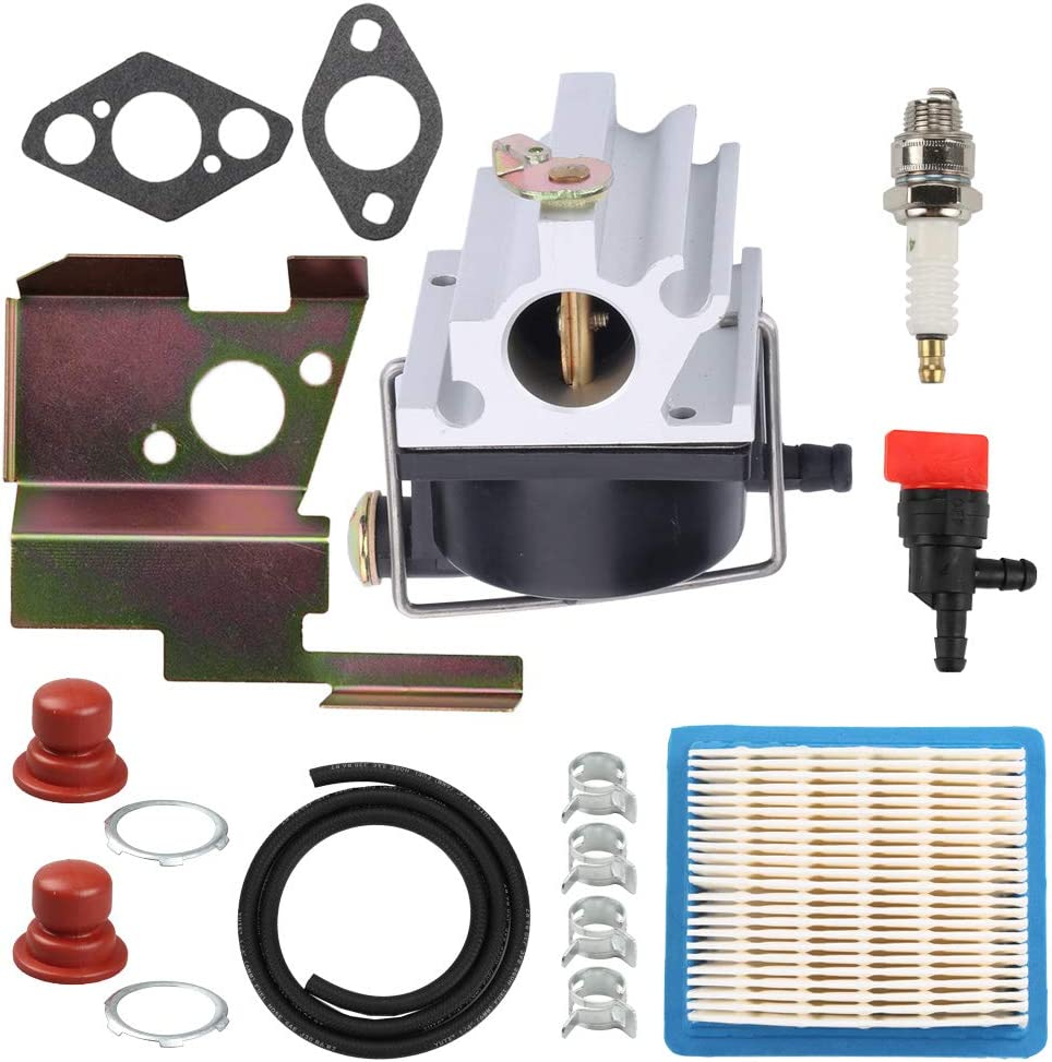 Panari 640020 Carburetor Air Filter Tune Up Kit for Tecumseh 640020A 640020B VLV126 VLV60 VLV50 VLV55 VLV65 VLV66 VLV126A 6.5HP 6.75HP Engine Lawn Mower