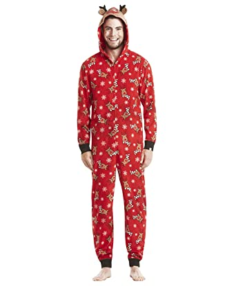 Pyjama Noel Famille Combinaison Pyjama Grenouillere Femme Manche