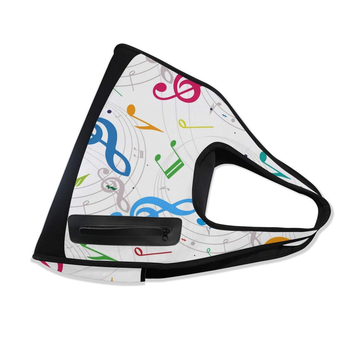 Unisex Travel Duffels Gym Bag Music Note Canvas Weekender Bag Shoulder Bag Totes bags