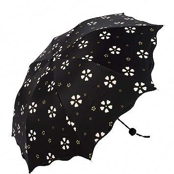 suowo compacto plegable resistente al viento paraguas de ...