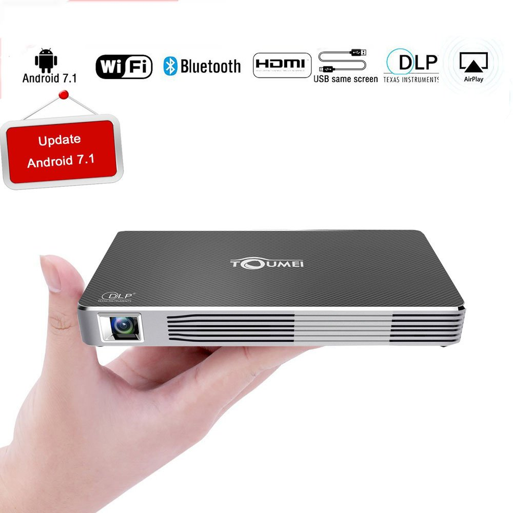 Amazon.com: Mini Projector, Sporthomer Portable Pocket Smart ...