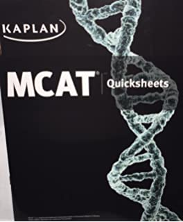 Kaplan mcat quick sheets kaplan 9781609786144 amazon books kaplan mcat quicksheets new edition for 2016 test mm5104e fandeluxe Image collections