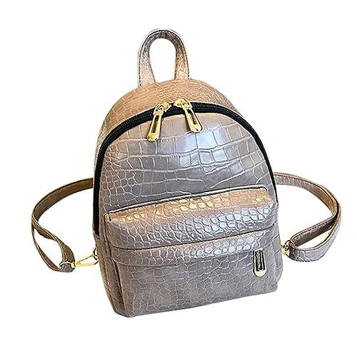 Modaworld Mochilas de cuero juvenil para mujer Bolso de escuela de niñas Moda bolsos mujer pequeños bolsos mujer baratos originales bolsos mochila mujer ...