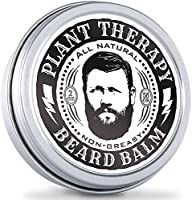 Plant Therapy Best Beard Balm. All Natural Beard Balm Made with Pure Essential Oils. Will Condition and Revive Your Beard. Cinnamon Cassia and Sandalwood. 2 oz.