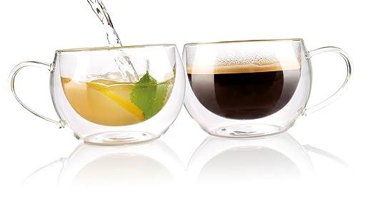 5 opinioni per Cucina Dimodena- Set di 2 tazze per tè o
