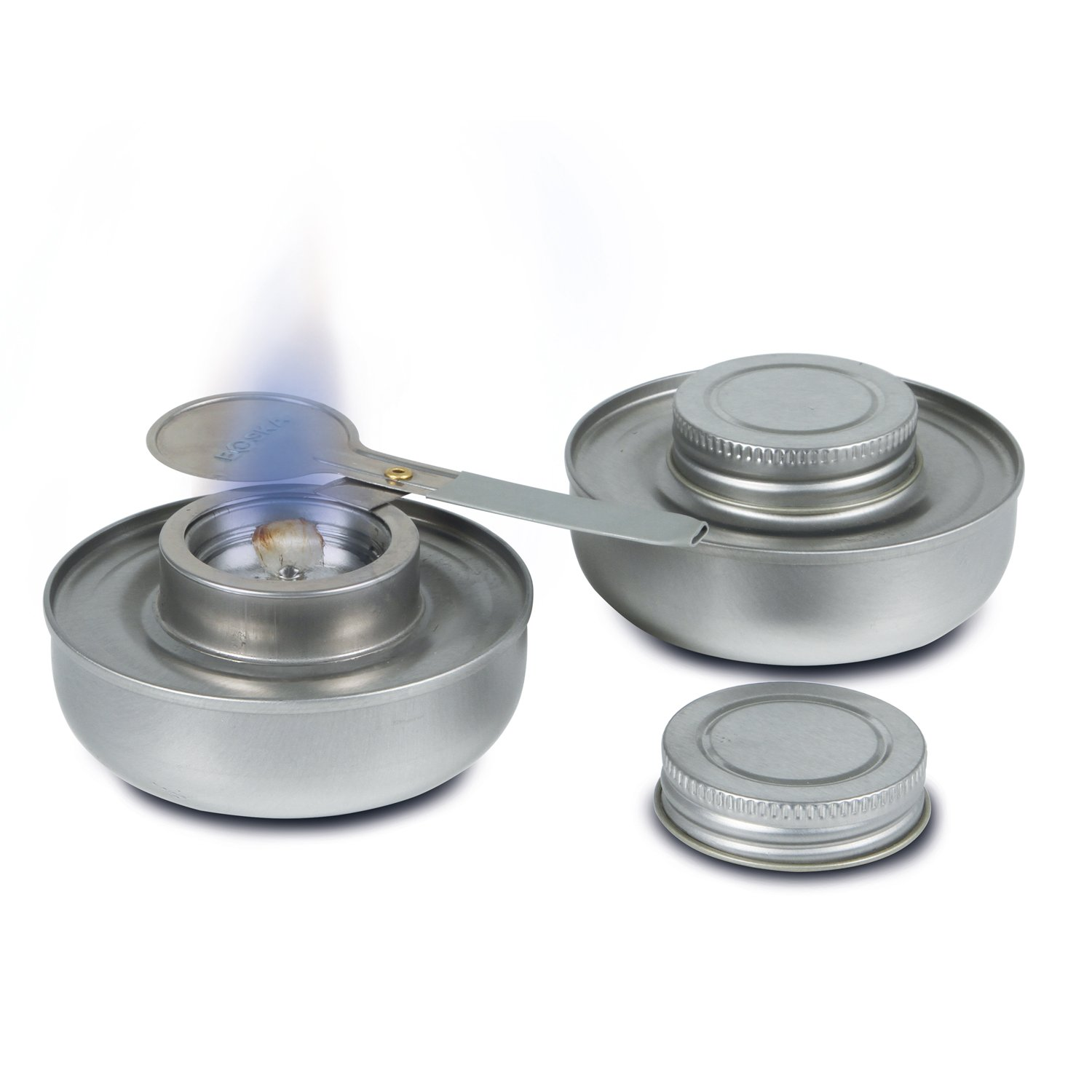 Boska Fondue Burner with Flame Control, Silver 330310