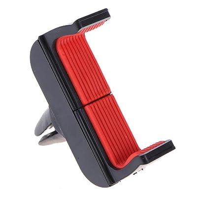 Asiright - Soporte de coche para teléfono móvil con rotación de 360 grados, color al azar