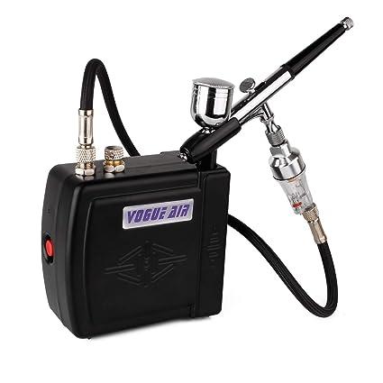 Mini Aerógrafo Conjunto Aerógrafo Pistola Aerógrafo Compresor Tatuaje Compresor con Rociador de Aire Comprimido de Acción
