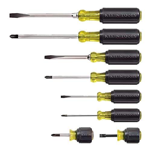 Klein Tools Screwdriver Set 8 Piece