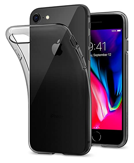 coque iphone 8 spigen liquid crystal