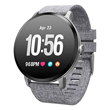Reloj Inteligente Hombre Mujer, Qimaoo Smartwatch IP67 Impermeable ...