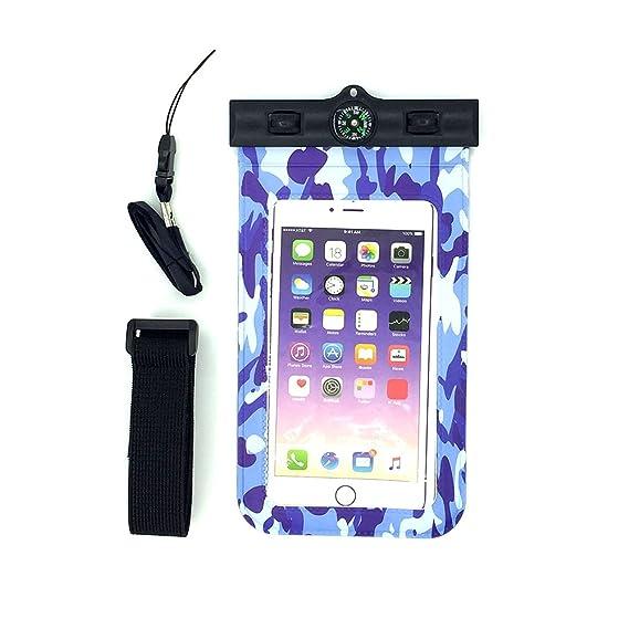 release date: 8874f bd865 Amazon.com: Universal Waterproof Phone Case-GHANB Underwater IPX8 ...