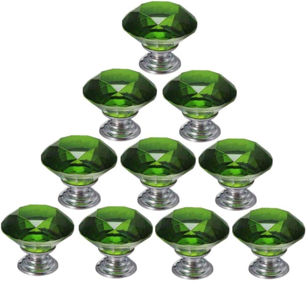 rot 5pcs Glasschrank Kn/öpfe 30mm Glast/ür Kn/öpfe Schrank Griff Schubladengriff mit Schraube