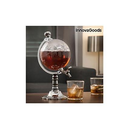 InnovaGoods Globe Dispensador de Bebidas, PMMA, 15x20x32 cm