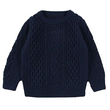 a81846c68a68 Amazon.com  Yihaojia Winter Autumn Keep Warm Sweater Children Baby ...