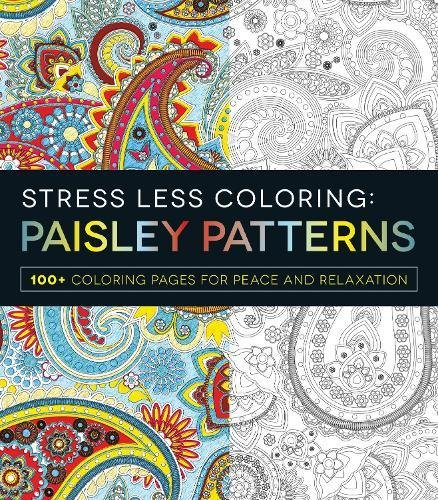 Stress Less Coloring - Paisley